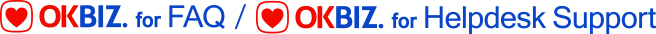 OKBIZ. for FAQ / Helpdesk Support