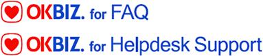 OKBIZ. for FAQ / OKBIZ. for Helpdesk Support