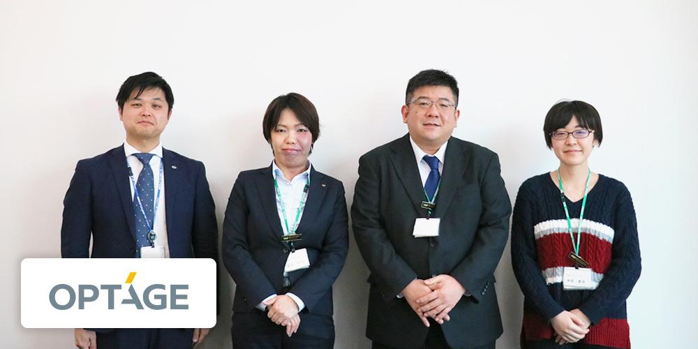 ケイ・オプティコムの桑島さん、藤井さん、中山さん、洲脇さん
